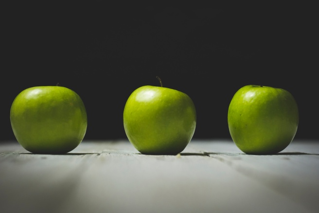 apples Photo by Holly Mindrup via Unsplash