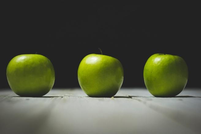 apples Photo by Holly Mindrup via Unsplash
